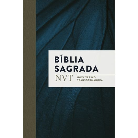 Biblia Sagrada - Azul Marinho - Mundo Cristao