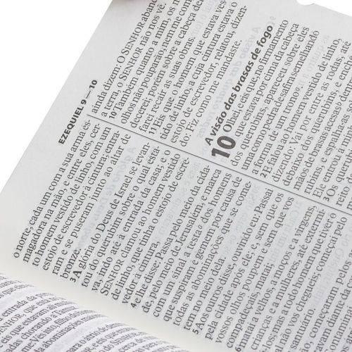 Biblia Sagrada com Letra Gigante - Luxo - Vermelho