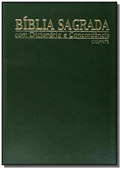 Biblia Sagrada Gig C/ Dicionario - Capa Luxo Preta