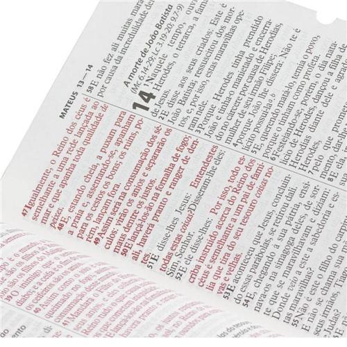 Bíblia Sagrada Grande com Letra Gigante e Índice - Rc (pink)