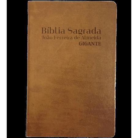 Bíblia Sagrada Letra Gigante RC Marrom