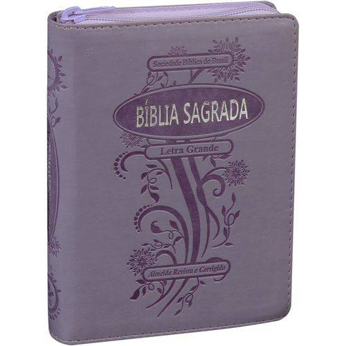 Bíblia Sagrada - Letra Grande - Almeida Revista e Corrigida