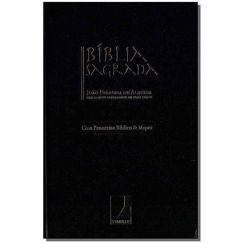 Biblia Sagrada - Letra Grande - Luxo - Preta