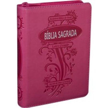 Bíblia Sagrada Letra Grande RC Pink