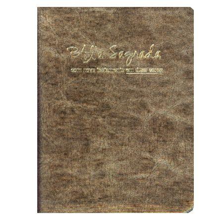 Bíblia Sagrada Letra Média RC Luxo Dourada