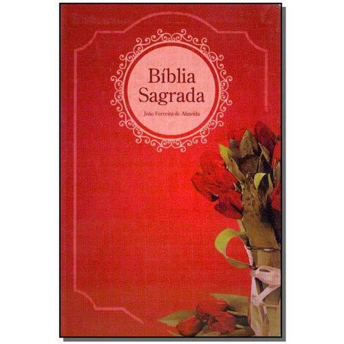 Biblia Sagrada - Luxo - Feminina - Vermelha