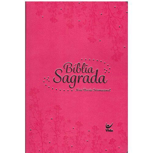 Bíblia Sagrada Nvi - Capa Semi Luxo - Rosa