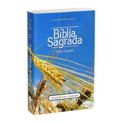 Bíblia Sagrada Ra Letra Gigante - Trigo