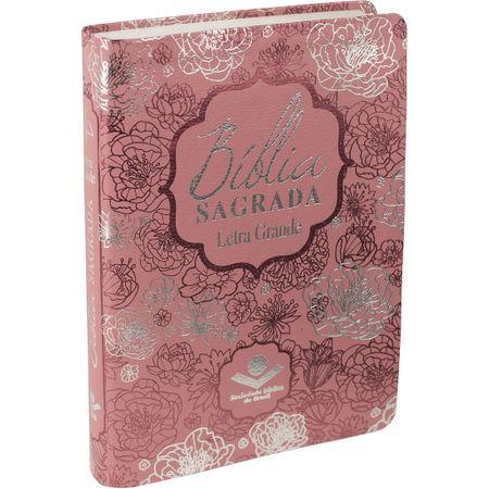 Bíblia Sagrada RC Letra Grande com Índice Rosa