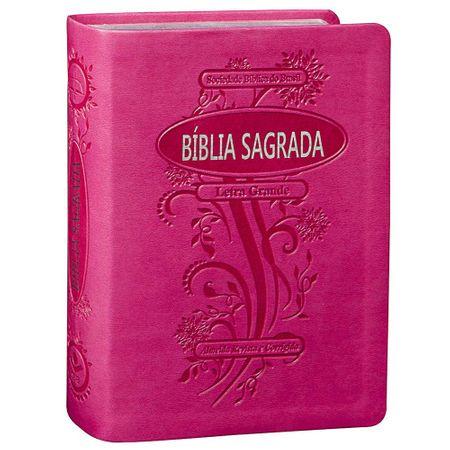 Bíblia Sagrada RC Letra Grande Pink