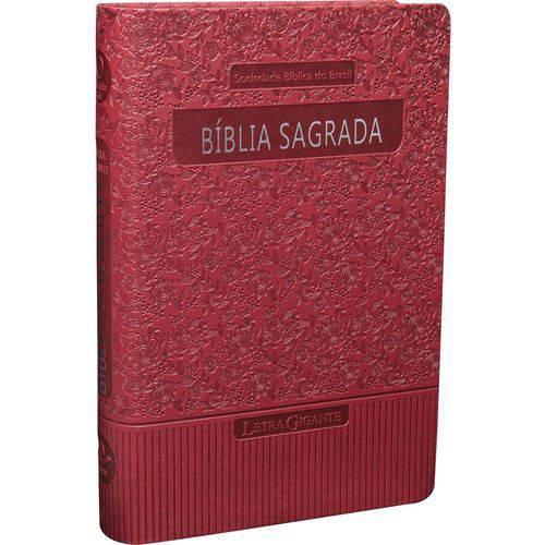 Bíblia Sagrada - Revista e Atualizada com Letra Gigante