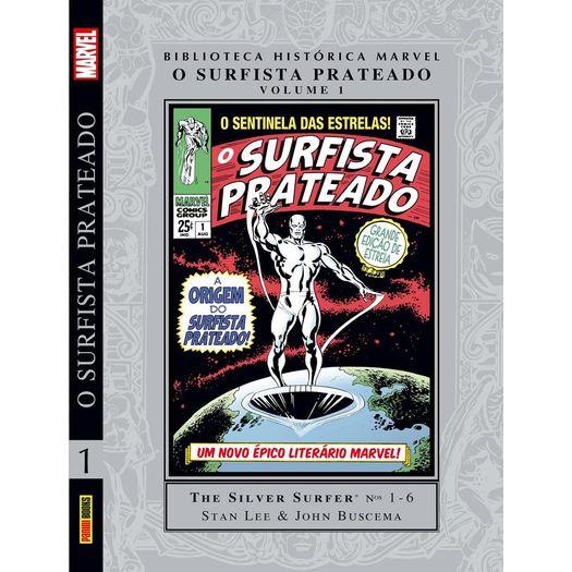 Biblioteca Historica Marvel - o Surfista Prateado - Panini