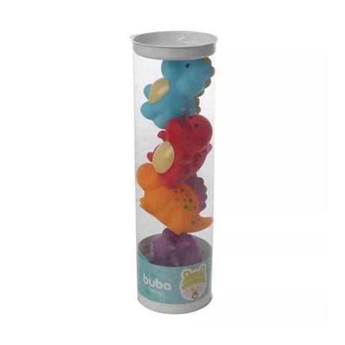 Bichinhos de Banho Dinos 4690 Buba Baby Colorido