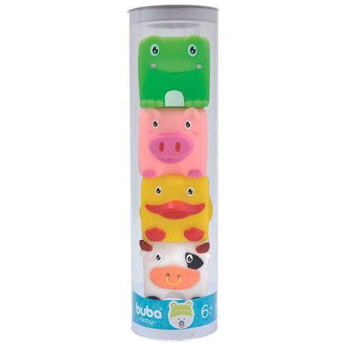 Bichinhos para Banho Turminha Fazenda - Buba Toys