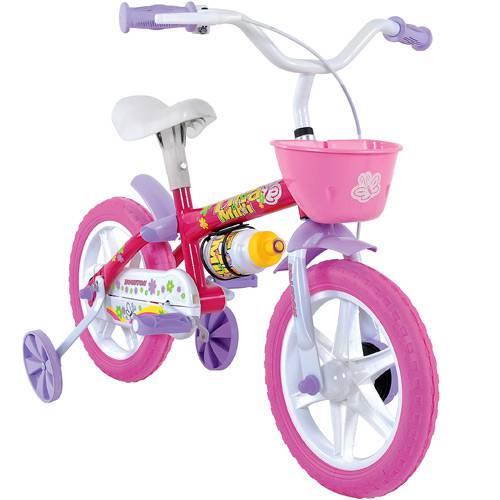 Bicicleta A12 Tina Mini Cor Rosa TM12I Houston - BIKE DO NORDESTE S/A