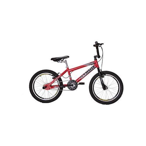 Bicicleta Aro 20 Extreme Vermelha Athor Bike