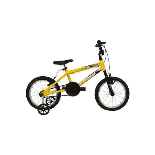 Bicicleta Aro 20 Free Action Amarela Athor