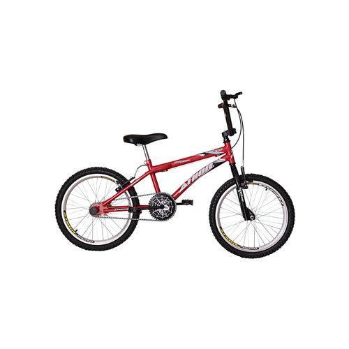 Bicicleta Aro 20 Free Action Vermelha Athor Bike