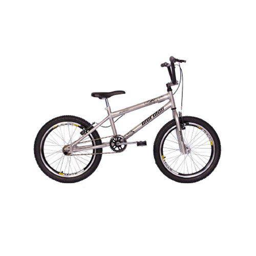 Bicicleta Aro 20 Mormaii Cross-Aço Energy - 2011807 - Prata