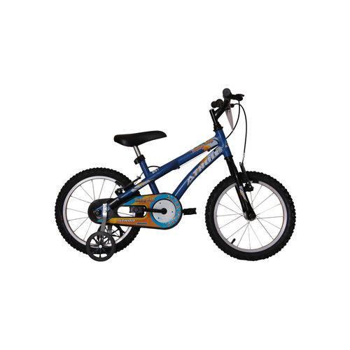 Bicicleta Aro 16 Baby Boy Azul Athor Bike