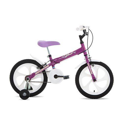 Bicicleta Aro 16 Bloom Roxa BLMT161Q - Houston