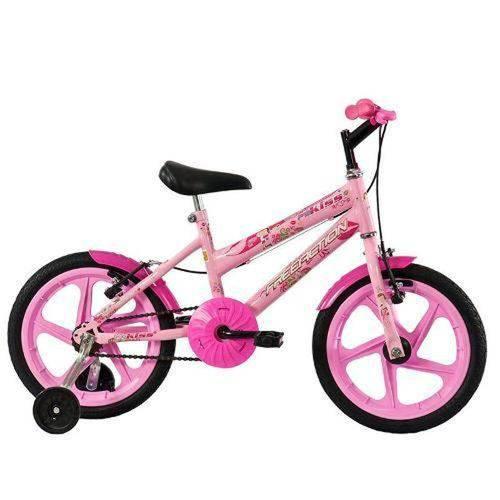 Bicicleta Aro 16 Kiss Rosa Mormaii