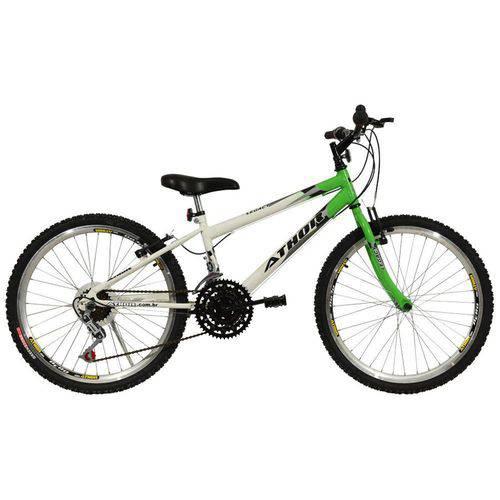 Bicicleta Aro 24 18M Mtb Legacy Verde Athor