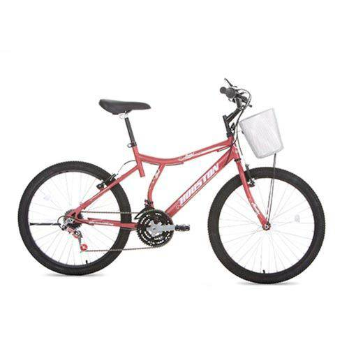 Bicicleta Aro 24 Bristol Peak Vermelha Houston