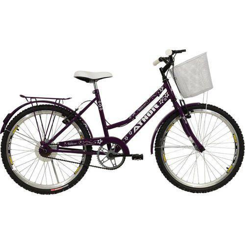 Bicicleta Aro 24 Nature Violeta Athor