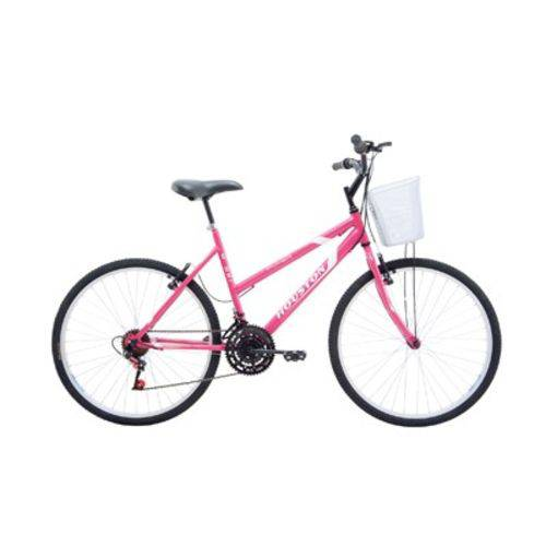 Bicicleta Aro 26 18 Marchas Maori Houston Rosa