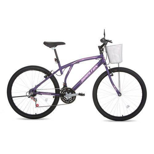 Bicicleta Aro 26 Bristol Lance Violeta Houston