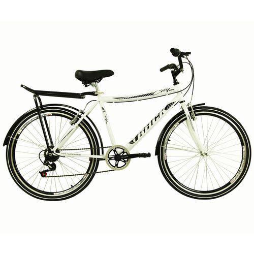Bicicleta Aro 26 City Urb Branca - CITY URB W