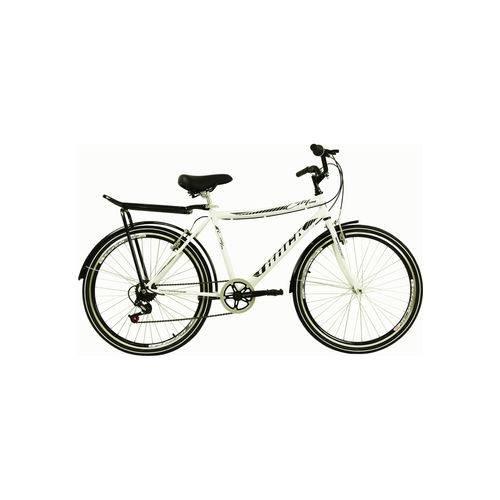 Bicicleta Aro 26 City Urb Branca Track Bikes