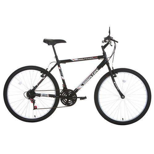 Bicicleta Aro 26 Houston Foxer Hammer 21 Marchas Preta