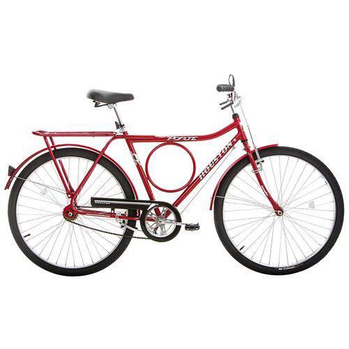 Bicicleta Aro 26 Houston Super Forte Fv Freio Varão Vermelho Sun Red