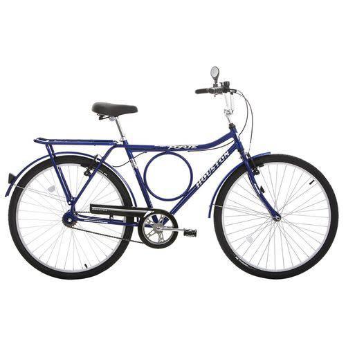 Bicicleta Aro 26 Houston Super Forte Vb Freio V-Brake Azul Copa