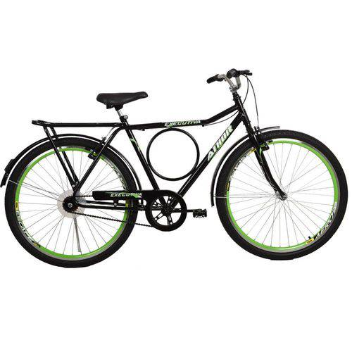 Bicicleta Aro 26 V-Brake com Aero Executiva Verde Athor