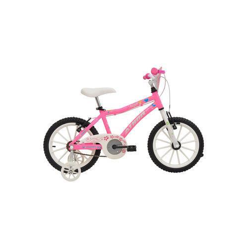 Bicicleta Athor Aro 16 Alumínio Angel Rosa