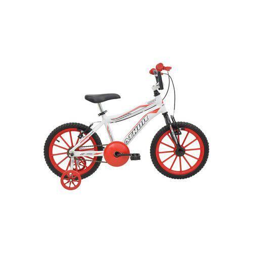 Bicicleta Athor Aro 16 Alumínio Max Branca