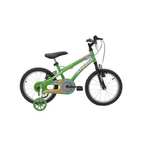 Bicicleta Athor Aro 16 Baby Boy Masculino Verde