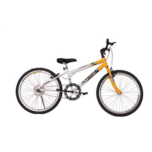 Bicicleta Athor Aro 24 Mtb S/m Legacy Masculino Amarela
