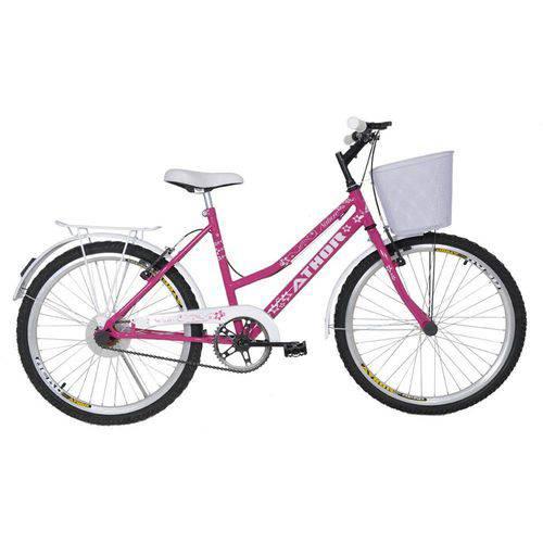 Bicicleta Athor Aro 24 Nature Rosa