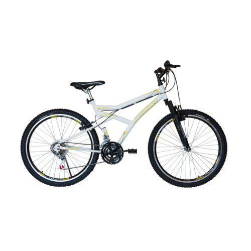 Bicicleta Athor Aro 26 Maximus 18v C/ Suspensão Dianteira Branca