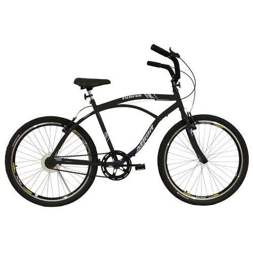 Bicicleta Athor Aro 26 Surfer Masculina Preta