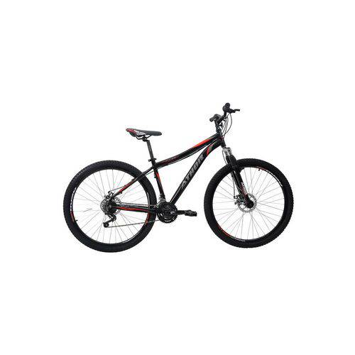 Bicicleta Athor Aro 29 Titan 21v Alumínio T-18 Preto Preto Único