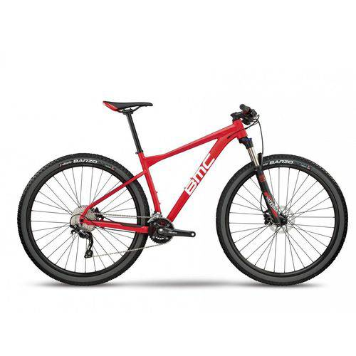 Bicicleta BMC Aro 29 Team Elite 03 Three 2018 Vermelha