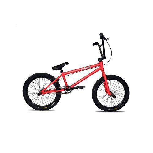 """Bicicleta Bmx Aro 20"""" X-Burn - Vermelho"""