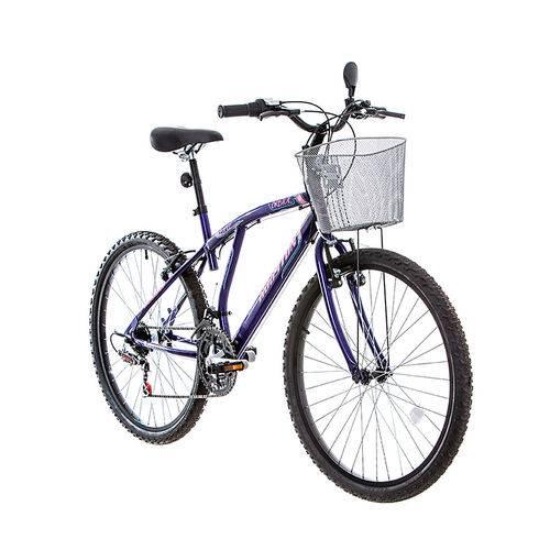 Bicicleta Bristol Lance Violeta Fosca, Aro 26, 21 Marchas, Freio V-Brake - Houston