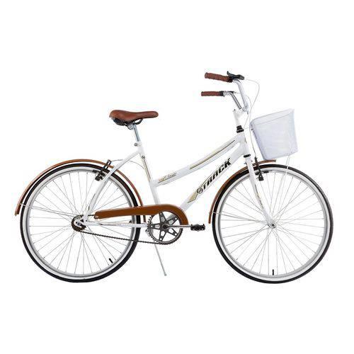Bicicleta Comfort Classic Plus Aro 26 Marrom - Track Bikes