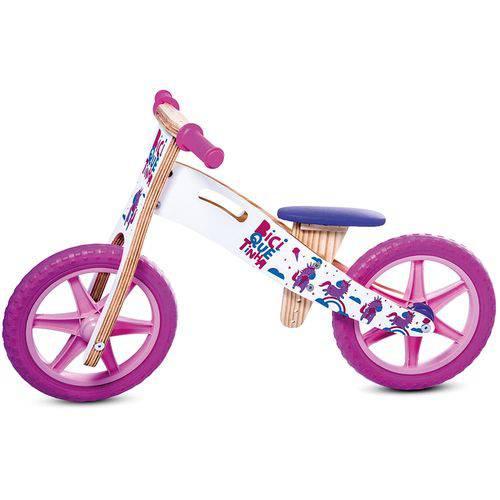 Bicicleta de Equilíbrio Balance Bike Unicórnio - Biciquétinha